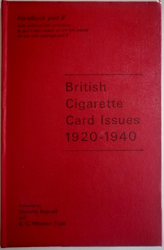 Image for The London Cigarette card Company's Handbook Part II