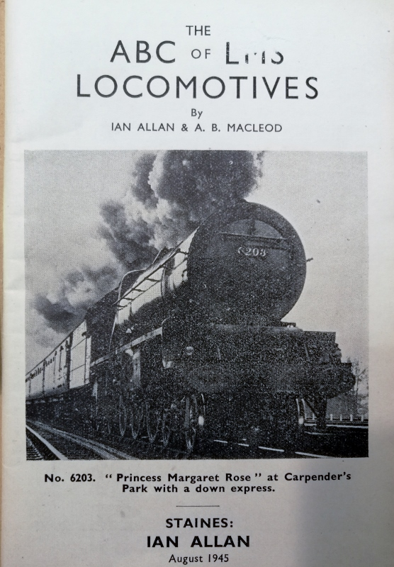 Image for The ABC of LMS Locomotives