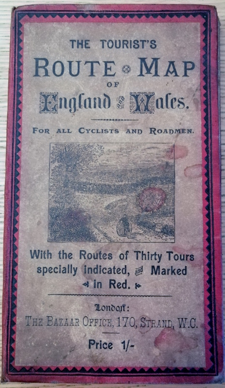 Image for The Tourist's Route Map of England and Wales. For All Cyclists and Roadmen