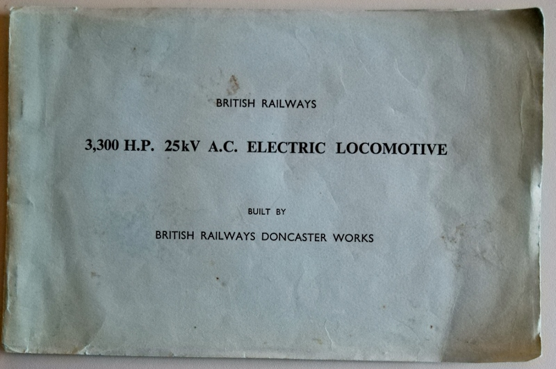 Image for British Railways 3,300 H.P.  A.C. Electric Locomotive Built By British Railways Doncaster Works